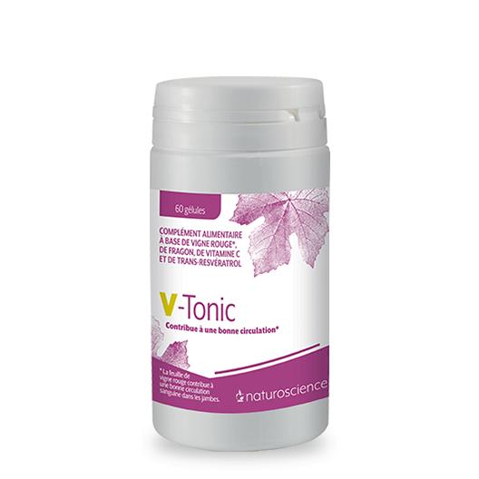 Complément alimentaire VeinoTonic - Laboratoire Naturoscience