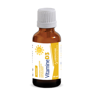 Vitamine D3 - Laboratoire Naturoscience