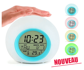 Horloge Lumineuse - Naturoscience