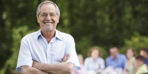 homme âgé glycation - Laboratoire Naturoscience