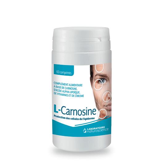 Protection de l'épiderme L-Carnosine - Laboratoire Naturoscience